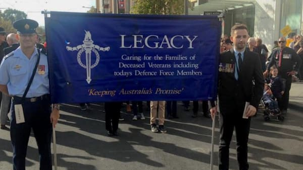 ANZAC Day March 2021